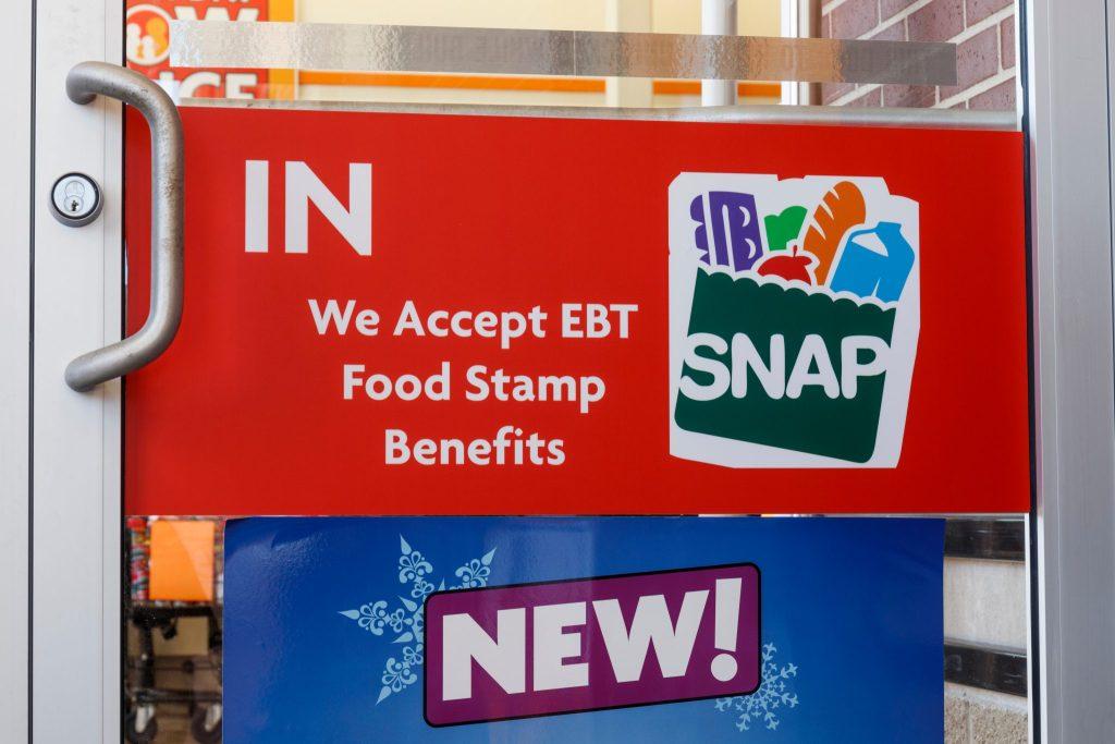 estampillas de alimentos en Carolina del Norte