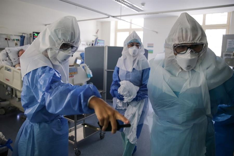 hospitalizaciones por contagio de covid-19 rompe récord en Carolina del Norte
