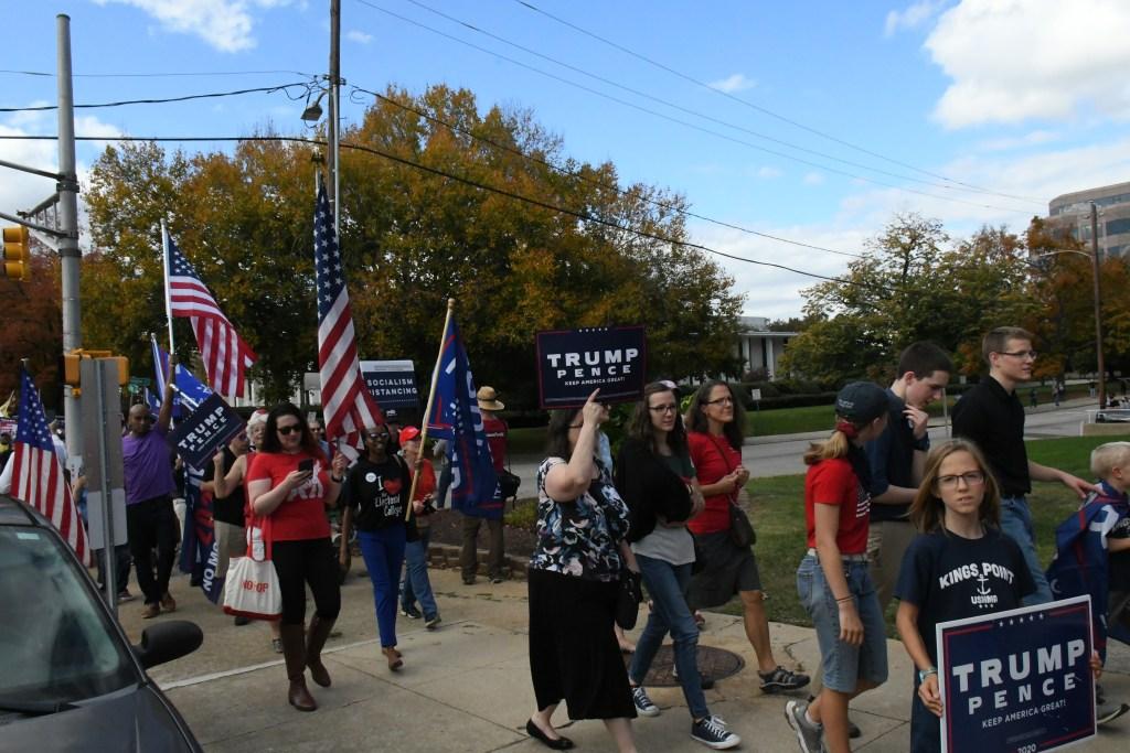 protesta se vuelve una fiesta