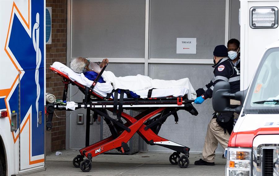 hospitalizaciones en Carolina del Norte por Covid-19