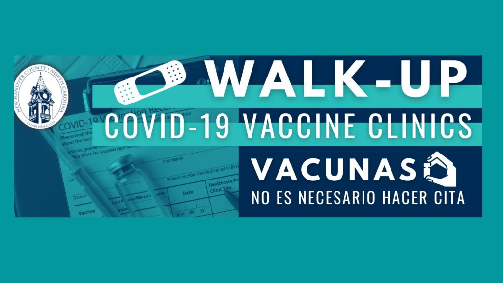 New Hanover clínicas de vacunación