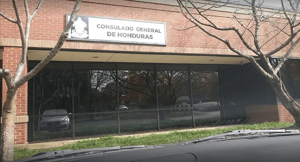Consulado móvil de Honduras en Raleigh
