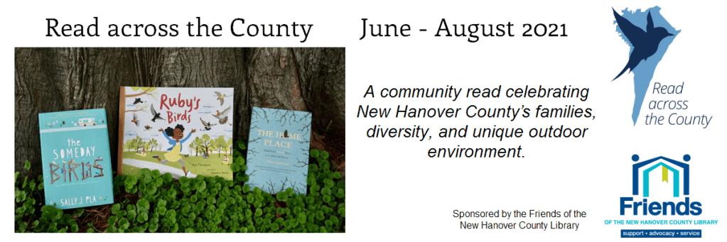 """condado de New Hanover anuncia la iniciativa """"Leer en todo el condado"""""""